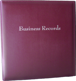 Business Records Binder