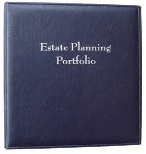 Estate Planning Portfolio Binder
