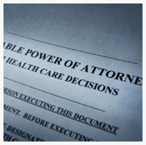 Healthcare Power of Attorney (Couple)